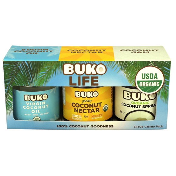 Buko Organic Coconut Goodness Pack