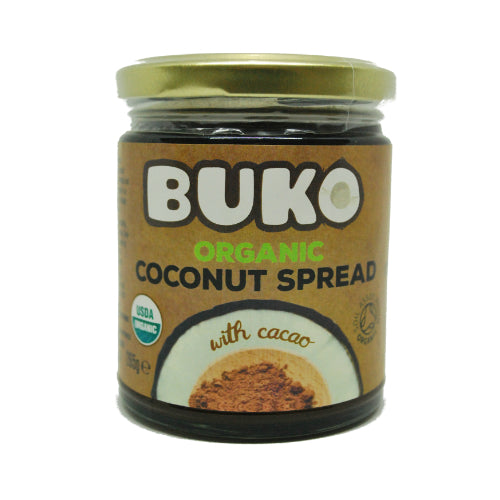 Buko Organic Coconut Spread with Cacao 265g