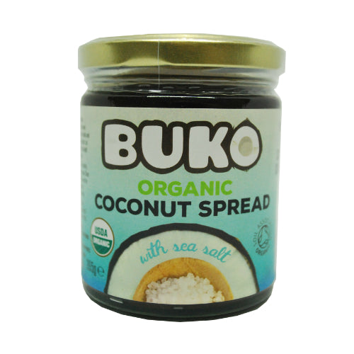 Buko Organic Coconut Spread with Sea Salt 265g