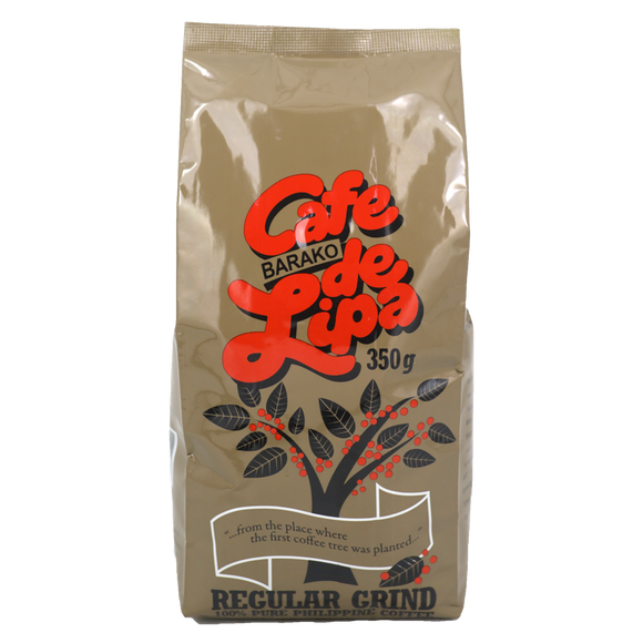 Cafe De Lipa Barako Coffee Regular Grind 350g - Foodsource PH
