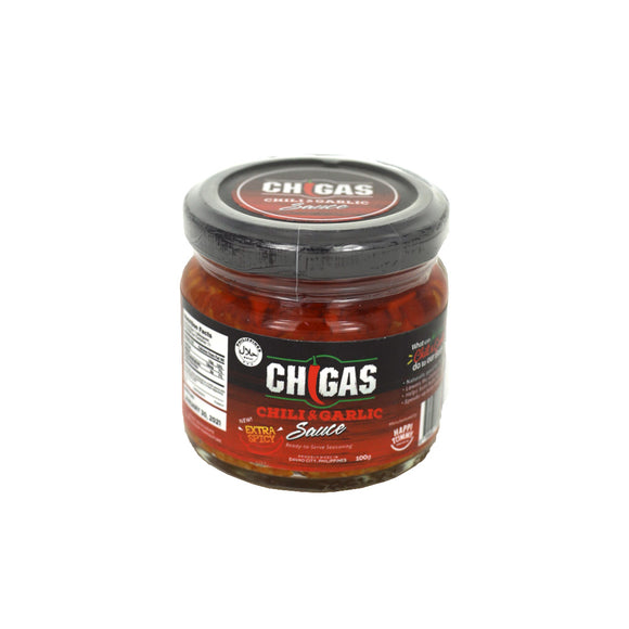 Chigas Chili & Garlic Sauce Extra Spicy 100g - Foodsource PH