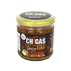 Chigas Spicy Dilis in Chili & Garlic Sauce with Calamansi 200g