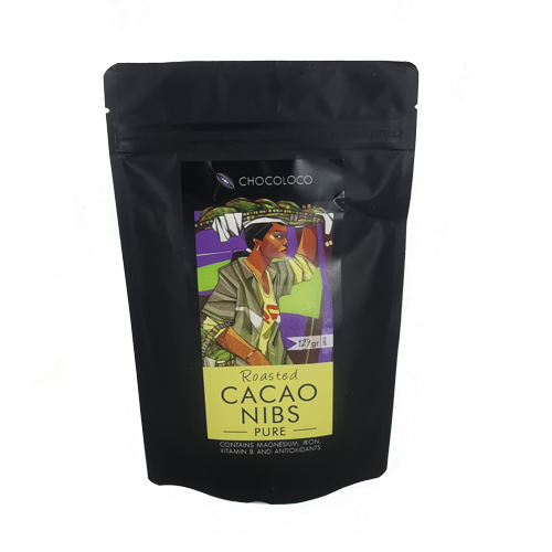 Chocoloco Roasted Cacao Nibs Pure 127g