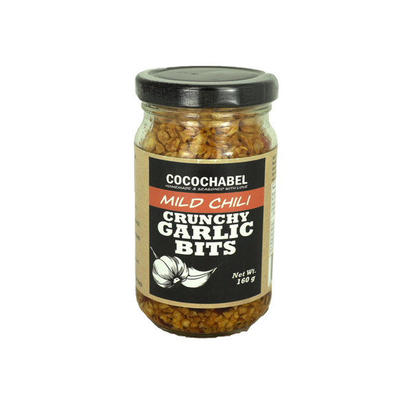 Cocochabel Mild Chili Crunchy Garlic Bits 160g - Foodsource PH