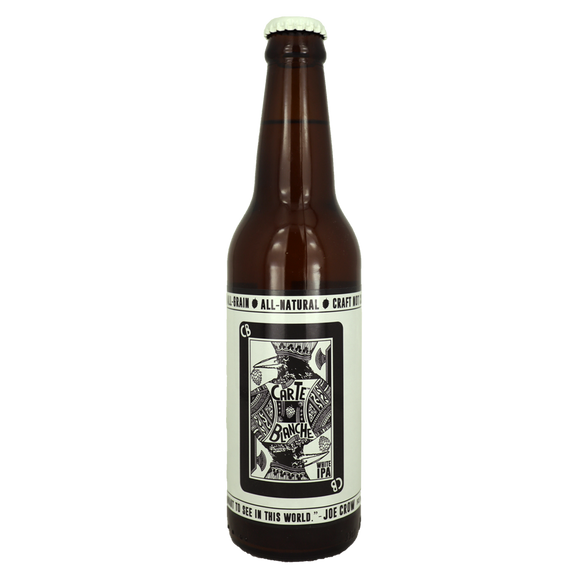 Crows Carte Blanche White IPA Beer 330ml - Foodsource PH