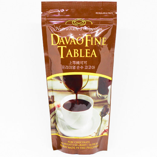 NutraRich Davao Fine Tablea Pure Chocolate 144g - Foodsource PH