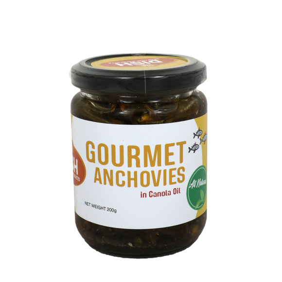 Dish Gourmet Anchovies in Canola Oil 200g