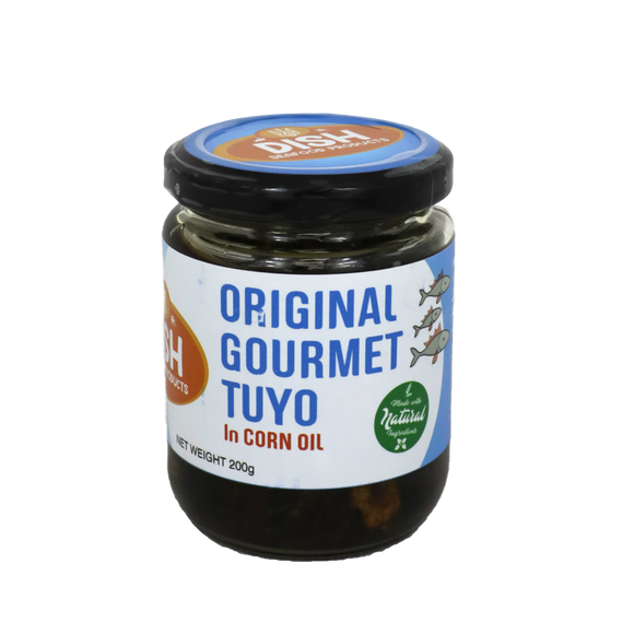 Dish Original Gourmet Tuyo in Corn Oil 200g
