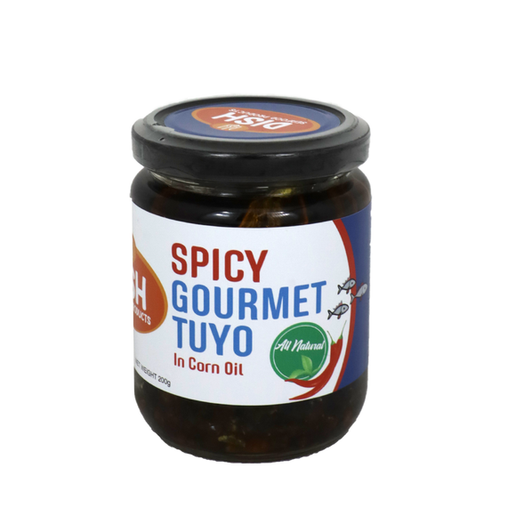 Dish Spicy Gourmet Tuyo in Corn Oil 200g