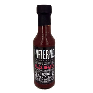 INFIERNO Black Reaper by Don Hulyo Hot Sauce 147ml - Foodsource PH
