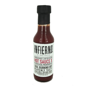 Infierno Hot Sauce X by Don Hulyo 147ml