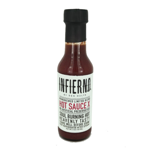 Infierno Hot Sauce X by Don Hulyo 147ml - Foodsource PH