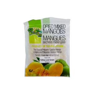 Paradise Dried Mixed Mangoes 80g - Foodsource PH