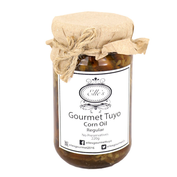 Elle's Gourmet Tuyo in Corn Oil Regular 220g - Foodsource PH