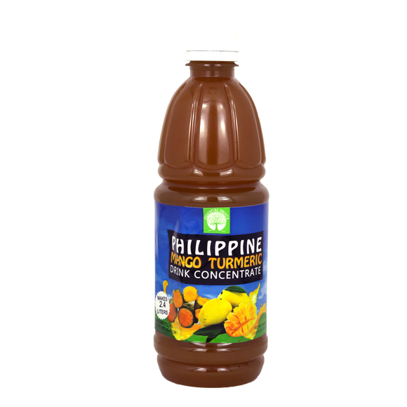 Essential Fruits Philippine Mango with Turmeric Drink Concentrate 500ml - Foodsource PH
