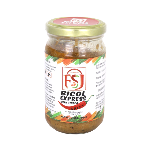 FSJ Bicol Express with Tinapa Spicy 210g