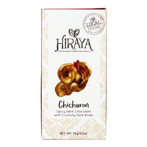 Hiraya Chocolate Chicharon Dark Chocolate