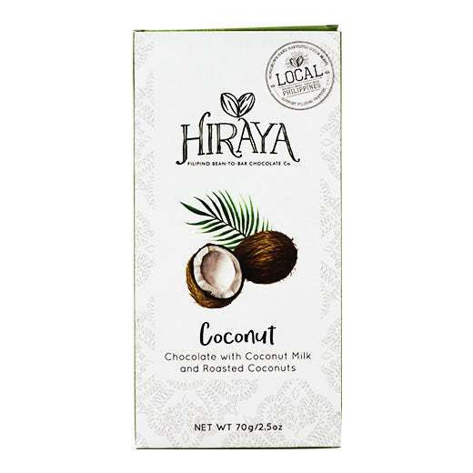 Hiraya Chocolate Coconut Milk Chocolate