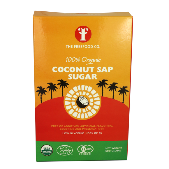 The Freefood co Coconut Sap Sugar 500g - Foodsource PH