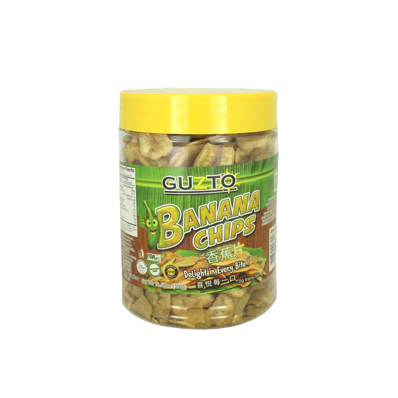 Guzto Banana Chips Regular 300g