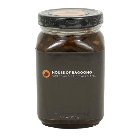 House of Bagoong Sweet and Spicy Alamang Bagoong 250g
