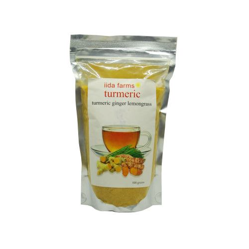 Iida Farms Turmeric Juice w/ Lemongrass 500g - Foodsource PH
