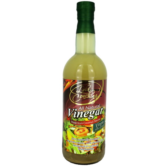 Lola Conching's All Natural Vinegar Virgin with Mother of Vinegar 750ml - Foodsource PH
