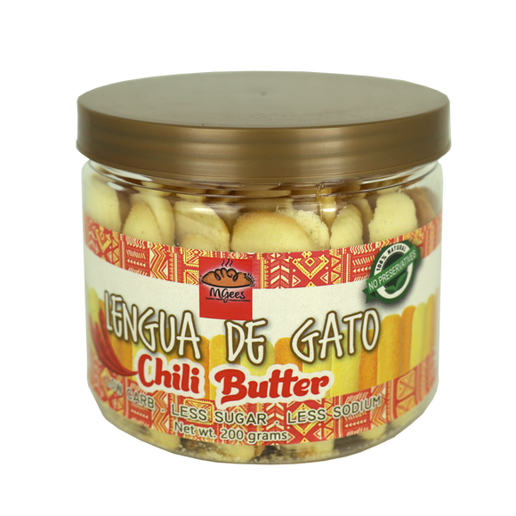 MGees Lengua de Gato Chili Butter 200g