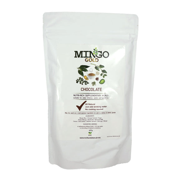 Mingo Gold Nutrient Rich Superfood Blend Chocolate 600g