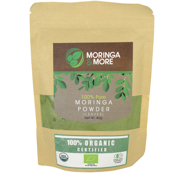 Moringa & More Organic Moringa Powder 80g