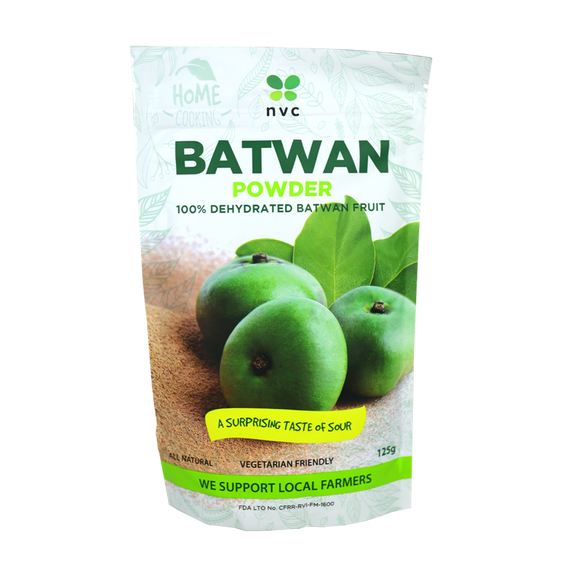 NVC Batwan Powder 100% Dehydrated Batwan Fruit 125g - Foodsource PH