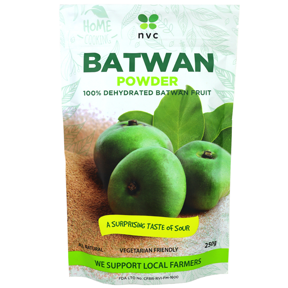 NVC Batwan Powder 100% Dehydrated Batwan Fruit 250g - Foodsource PH