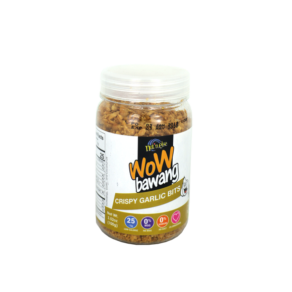 Nut 'n Else WOW BAWANG Garlic Bits Mini Jar 100g - Foodsource PH