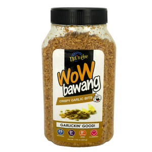 Nut 'n Else WOW BAWANG Garlic Bits Flat Jar 225g - Foodsource PH