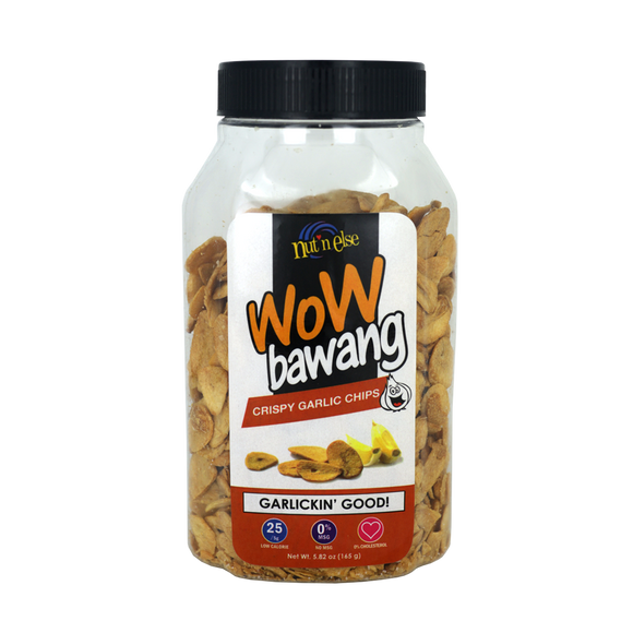 Nut 'n Else WOW BAWANG Garlic Chips Flat Jar 165g - Foodsource PH
