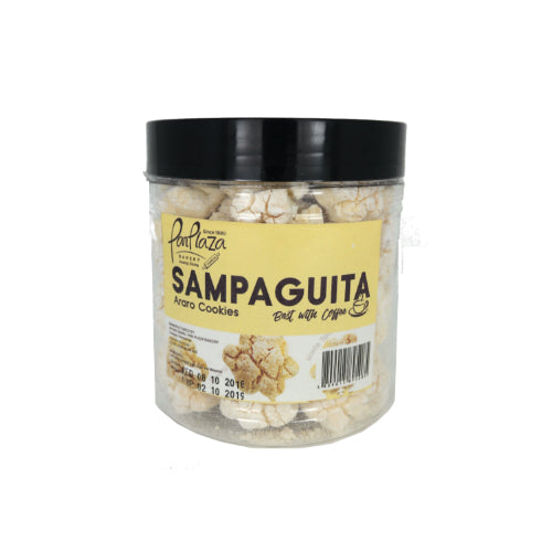 Pan Plaza Bakery Sampaguita Araro Cookies G3 Jar 400g - Foodsource PH