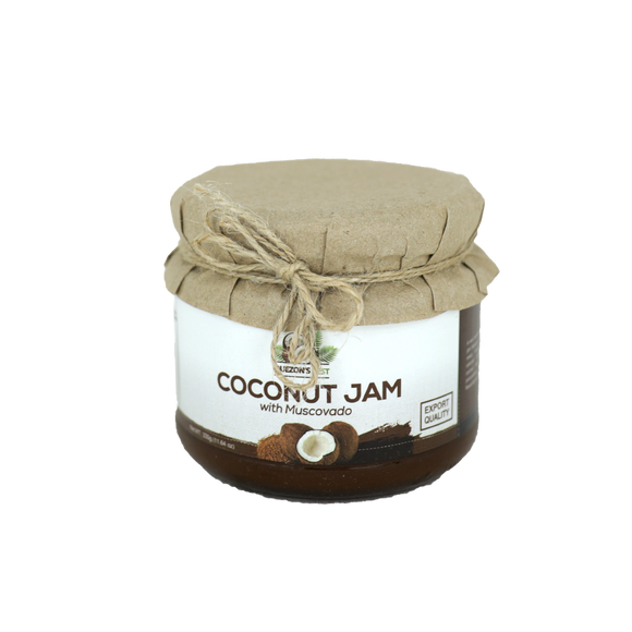 Quezon's Best Coconut Jam with Muscovado sugar 330g