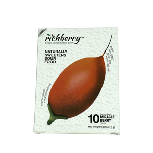 Richberry freeze dried Miracle Berry pack of 10 halves