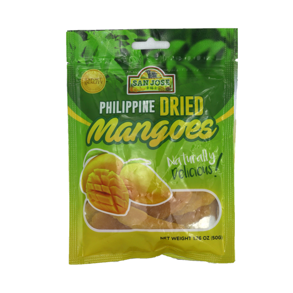San Jose Dried Mango 50g