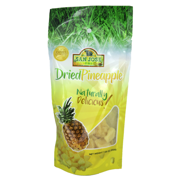 San Jose Dried Pineapple 200g