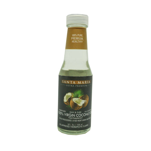 Santa Maria VCO- Virgin Coconut Oil Dietary Supplement 150ml - Foodsource PH