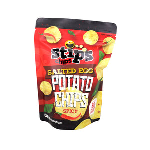 Stip's Chips Salted Egg Potato Chips Spicy 60g - Foodsource PH