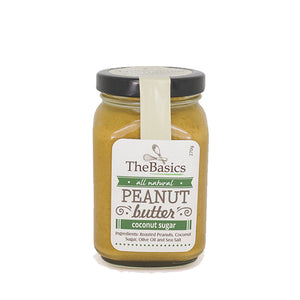 TheBasics Coconut Sugar Peanut Butter