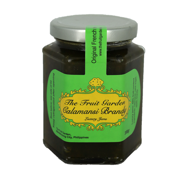 The Fruit Garden Calamansi Brandy Luxury Jam 350g - Foodsource PH
