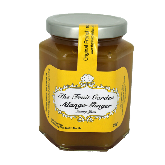The Fruit Garden Mango Ginger Luxury Jam 350g - Foodsource PH