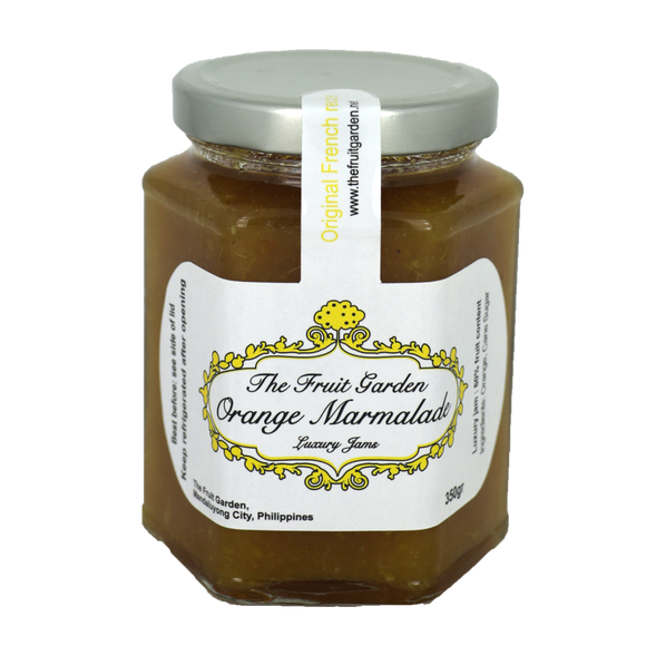 The Fruit Garden Orange Marmalade Luxury Jam 350g - Foodsource PH