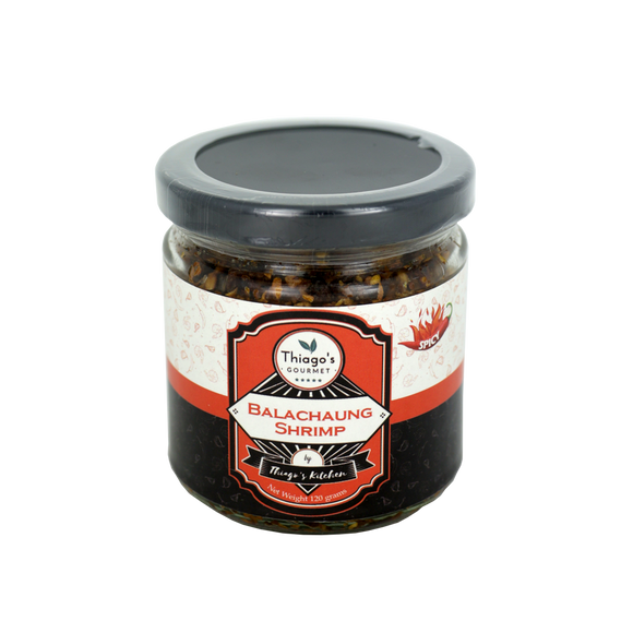 Thiago's Gourmet Balachaung Shrimp (Spicy) 120g - Foodsource PH