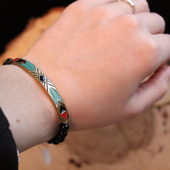 Aztec Stretch Bracelet