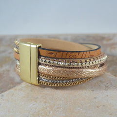 Light Arm Party Wrap Bracelet