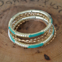 Mixed Bangle Set